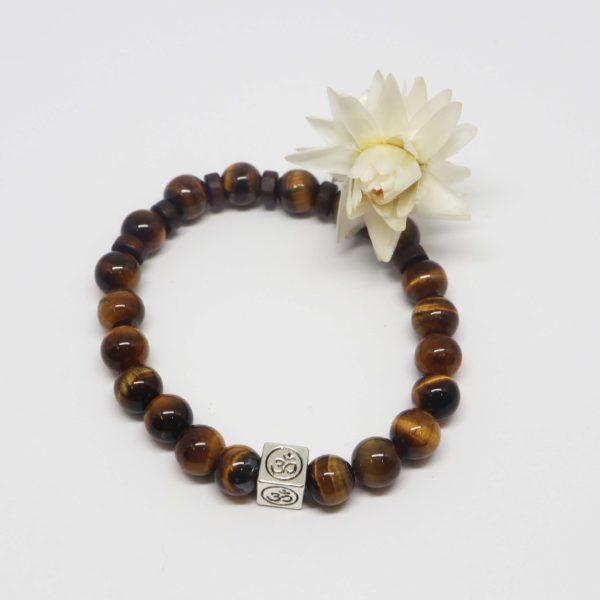 bracelet élastique pierres naturelles