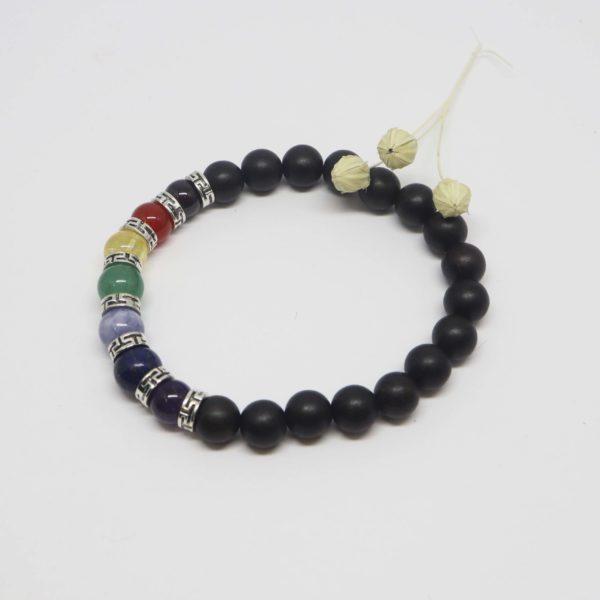 bracelet élastique 7 chakras