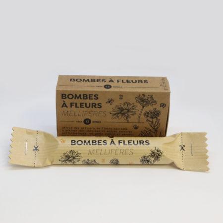 bombes à fleurs